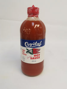 Crystal Pure Red Pepper Hot Sauce 474ml