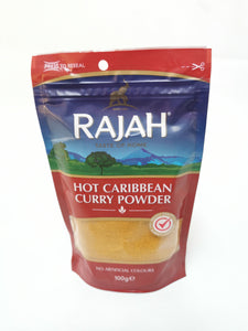 Rajah Hot Carribbean Curry Powder