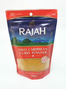 Rajah Mild Caribbean Curry Powder