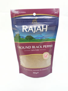 Rajah Ground Black Pepper