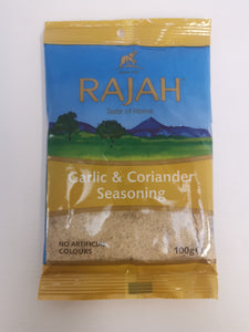 Rajah Garlic & Coriander Seasoning 100g