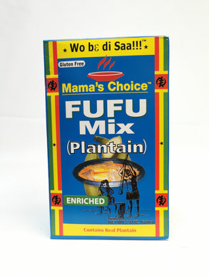 Mama's Choice Fufu Mix (Plantain) Enriched 681g
