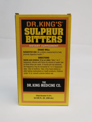 Dr King's Sulphur Bitters 200ml