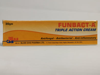 Funbact-a Triple Action Cream 30gm