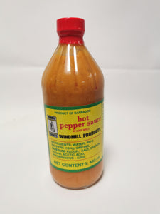 Windmill Products Hot Pepper Sauce