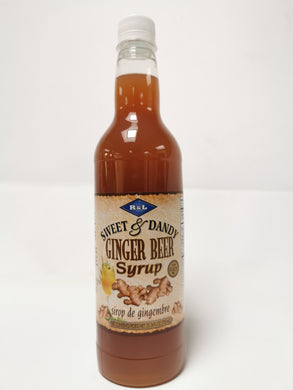 R&L Sweet & Dandy Ginger Beer Syrup 750ml