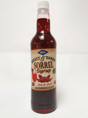R&L Sweet & Dandy Sorrel Syrup 750ml