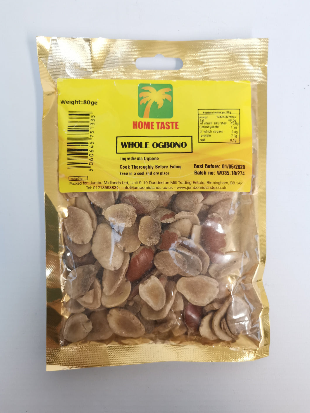 Home Taste Whole Ogbono 80g