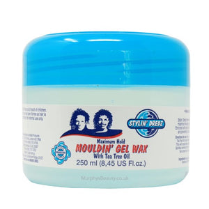 Stylin Dredz Mouldin Gel Wax 250ml