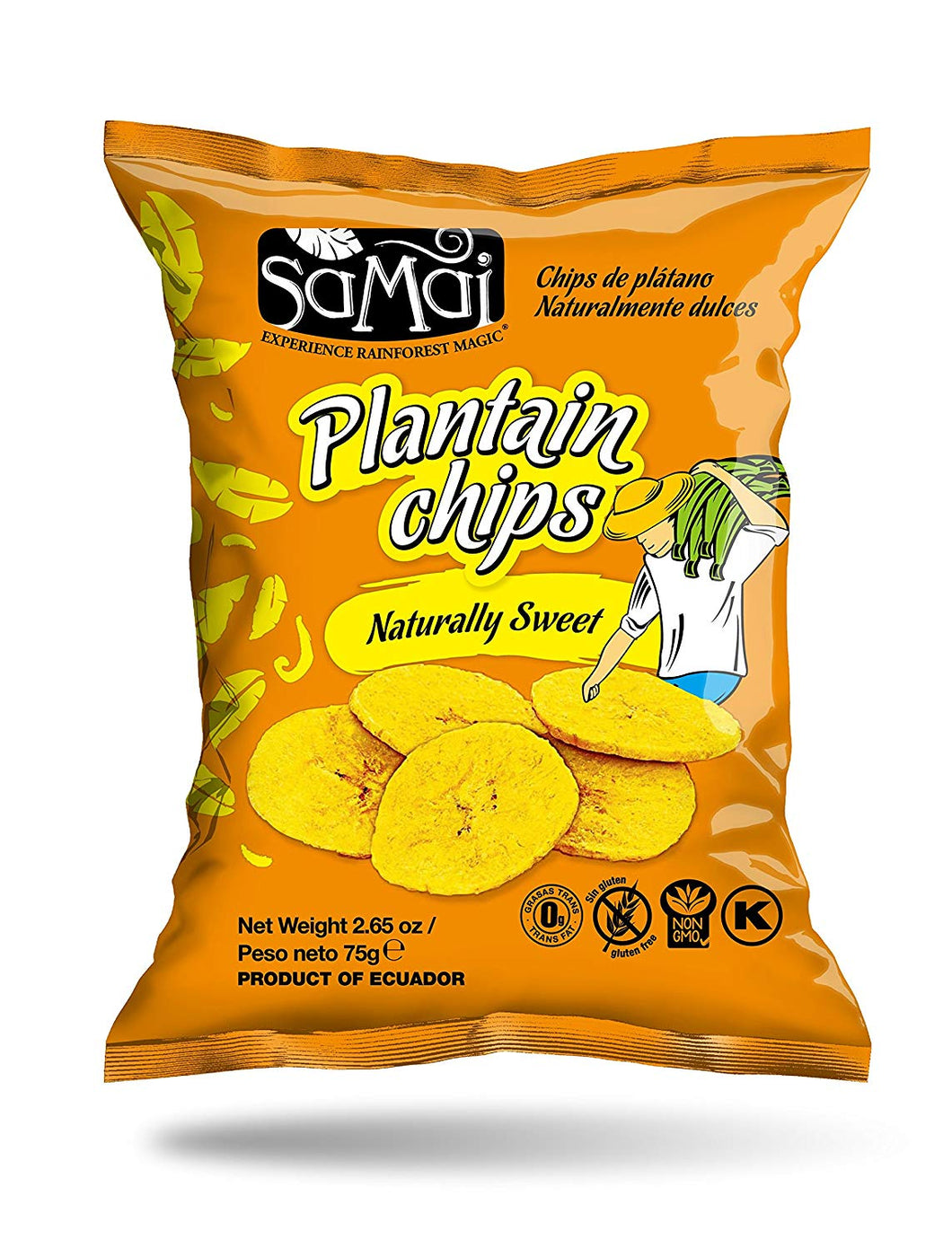 Samai Plantain Chips 75g