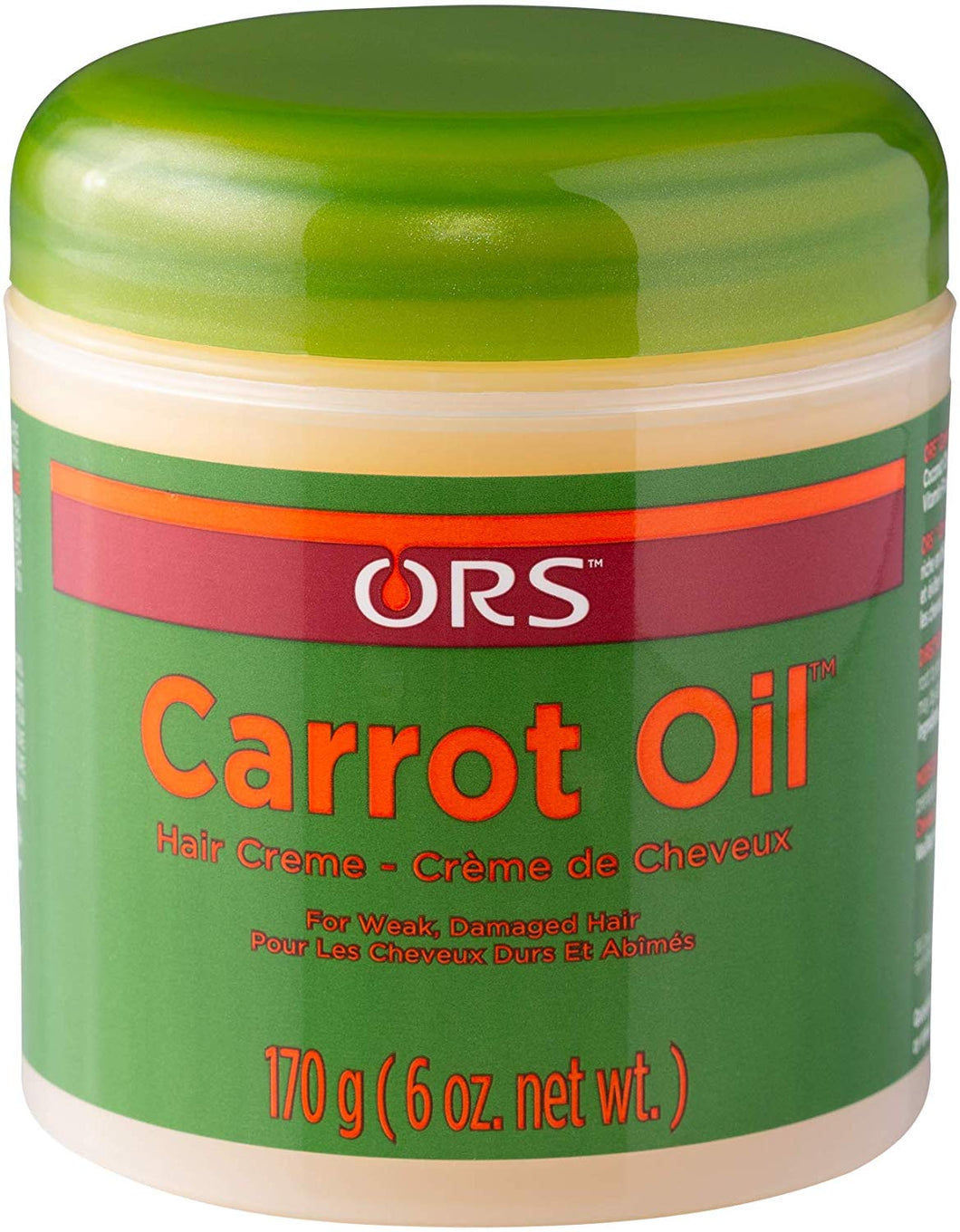 ORS Carrot Oil Hair Creme 170g