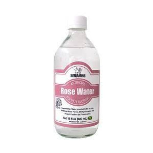 Benjamins Artificial Rose Water Food Flavouring - Flavouring