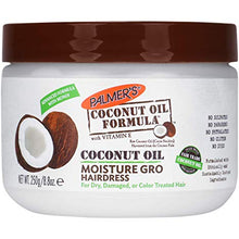 Load image into Gallery viewer, Palmer's Coconut Oil Moisture Gro Hairdress