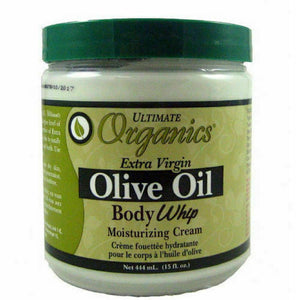 Ultimate Organics Olive Oil Body Whip Moisturizing Cream 444ml