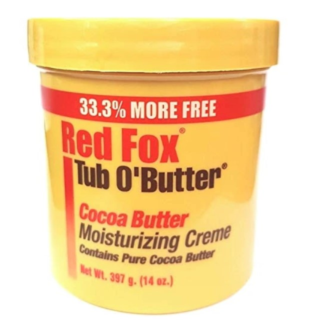 Red Fox Tub O' Butter Cocoa Butter Moisturizing Creme 397g