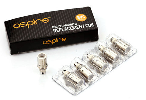 Aspire Replacement BVC Coils (1.6 Ohm)