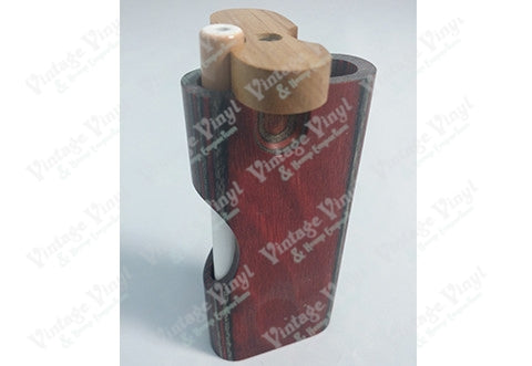 Futo Red and Grey Slotted Wood Regular Dugout