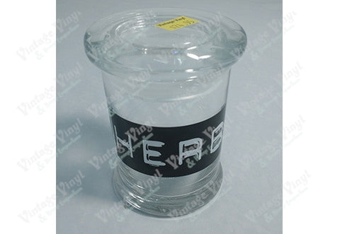 HERB Glass Jar