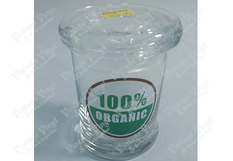 100% Oraganic Glass Jar