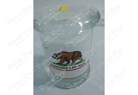 CANNABIS REPUBLIC Glass Jar