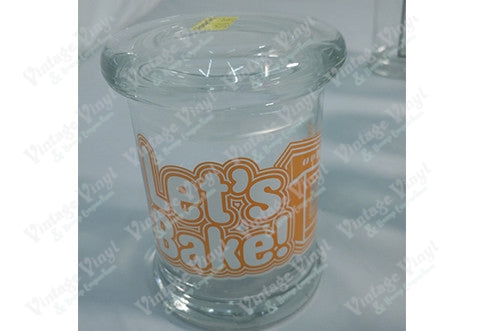 LETS BAKE Glass Jar