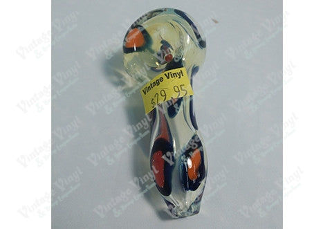 Orange And Black Spotted Pipe