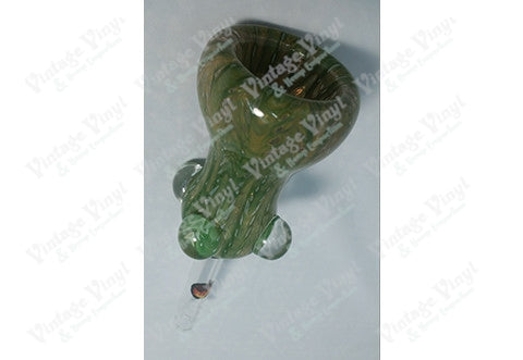 Green and Brown Swirled 12mm Bowl