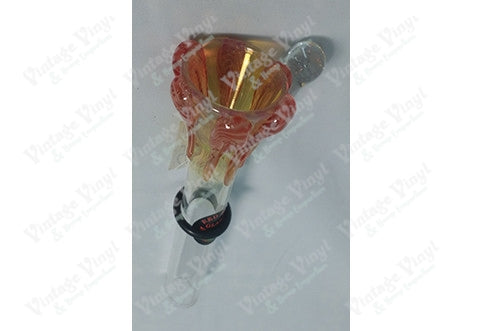 Yellow and Red Cone Shaped 12mm Bowl