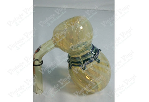 Clear and Yellow Bubbler 12mm Bowl