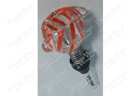 Clear and Orange Eject-a-Bowl 12mm Bowl