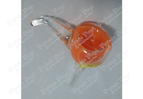 LIT Glass Liquid Glow Orange 9mm Bowl