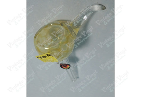 Yellow Honey Combed Bubble 9mm Bowl