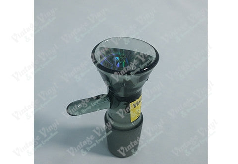 Smoked Cone Shaped 18mm Bowl