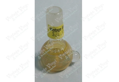 Clear with Yellow Stripes 14mm Bowl