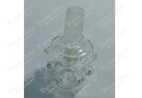 Clear Ribbed 14mm Bowl