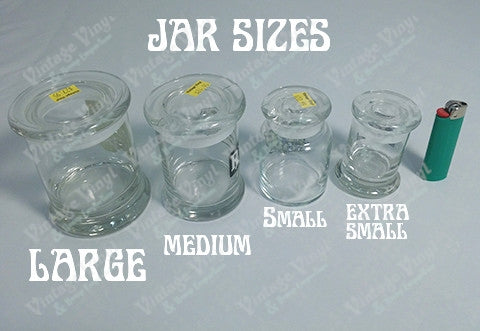 100% Organic Glass Jar