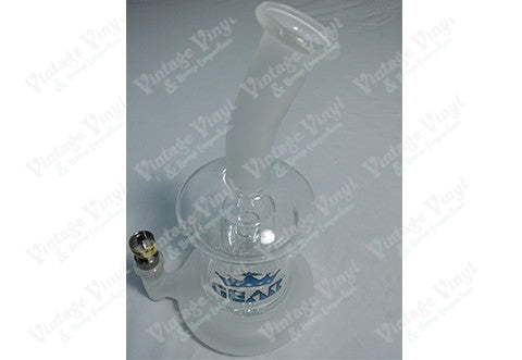 "GEAR 6.5"" Tall Blue Hugo Concentrate Bubbler W/14mm Joint"