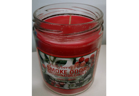 Hollyberry Hills Odor Exterminator Candle