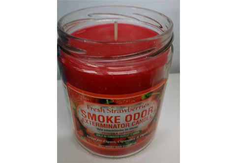 Fresh Strawberries Odor Exterminator Candle