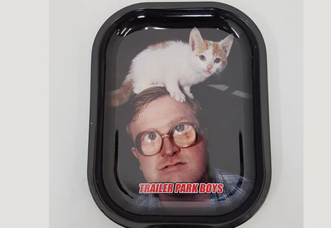 Trailer Park Boys Head Kitty Rolling Tray