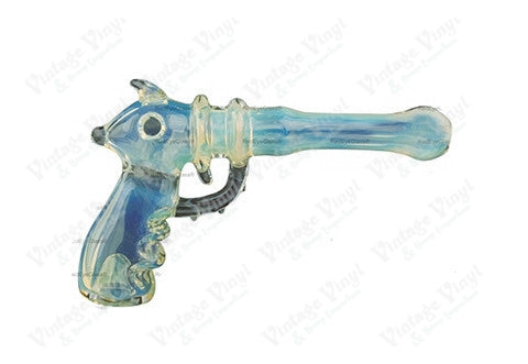 Frosted Raygun Hand Pipe
