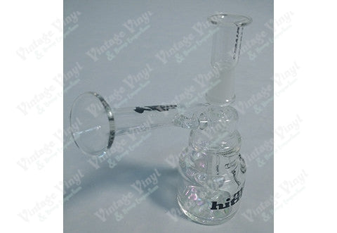 Hitman Clear and Color Changing Mini Rig with Glass on Glass Dome and Nail