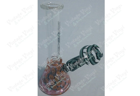Silika Glass Red and Green Tube Rig