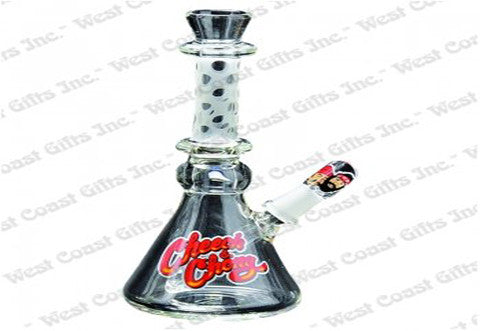"Cheech & Chong Glass 5"" Tall Neatnik Concentrate Bubbler w/10mm Joint"