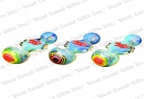 Cheech & Chong Glass Colour Changing Alice Bowie Hand Pipe