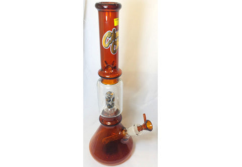 Cheech & Chong Glass Framed Water Pipe