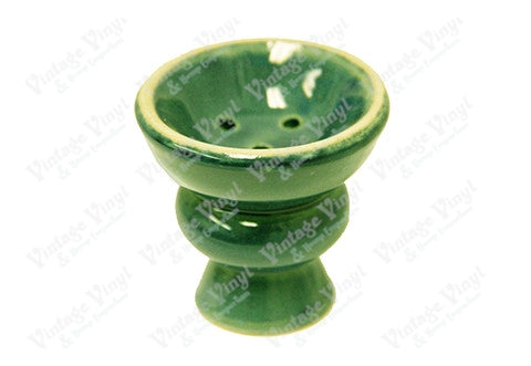 Green Ceramic Hookah Bowl