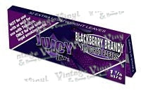 Juicy Jay's Blackberry Brandy Flavored 1 1/4 Size Rolling Papers