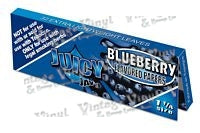 Juicy Jay's Blueberry Flavored 1 1/4 Size Rolling Papers