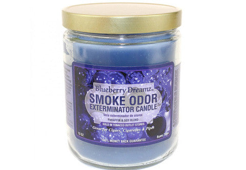 Blueberry Dreamz Odor Exterminator Candle